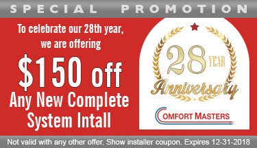 $150 Off Air Conditioning or Heating System Coupon