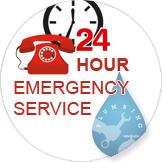 24 Hour Emergency Plumbing Service Icon