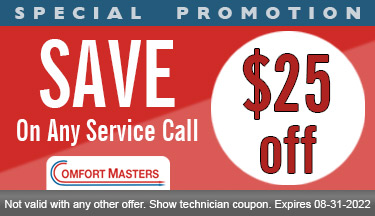 $25 Off Air Conditioning Service Call Coupon
